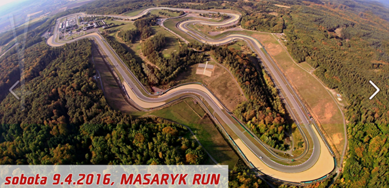 Masaryk run, závod, foto