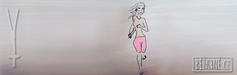 Běžkyně, začátečnice
