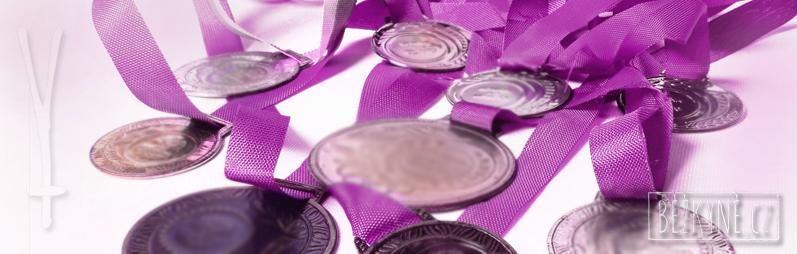 Odměny, výzva běžkyně